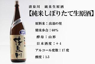 清泉川 純米しぼりたて生原酒